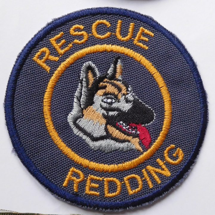 SAP South Africa Police RESCUE DOG HANDLER REDDING Cloth PATCH BLUE